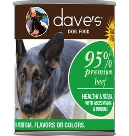Dave's Can Dog 95% Beef 13oz