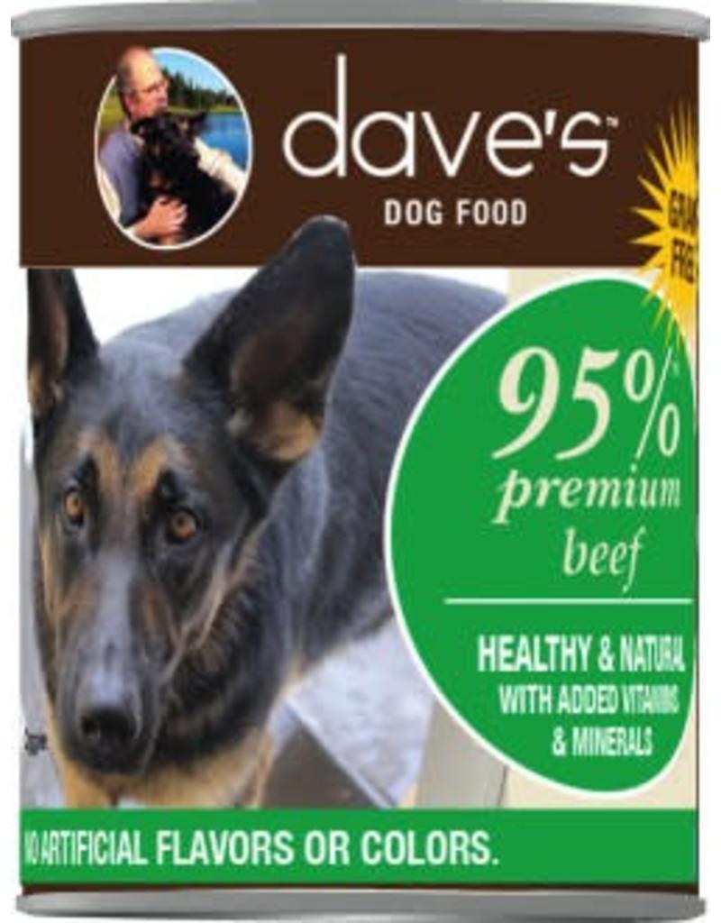 Dave's Dog 95% Beef 13oz
