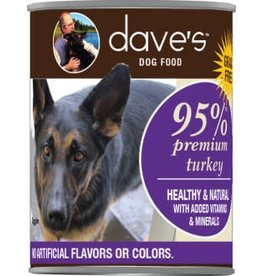 Dave's Can Dog 95% Turkey 13oz