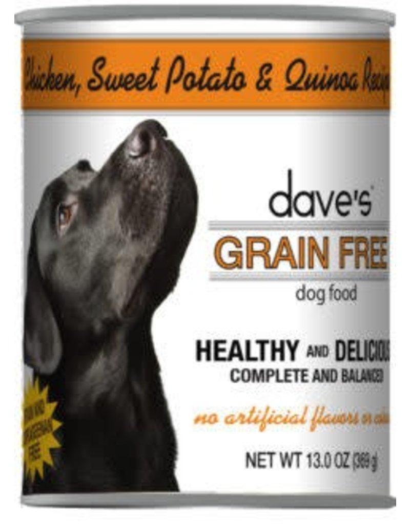 Dave's Dog Grain Free Chicken Sweet Potato & Quinoa 13.2oz