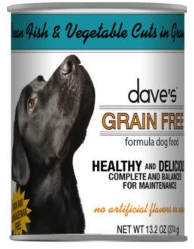 Dave's Dog Grain Free Ocean Fish & Vegatable 13.2oz
