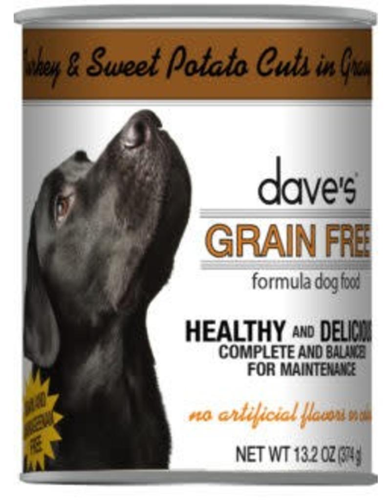 Dave's Dog Grain Free Turkey & Sweet Potato 12.2oz