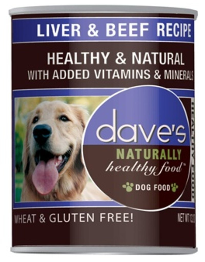 Dave's Dog Naturally Healthy Liver & Beef 13.2oz