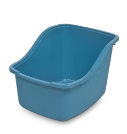 Petmate Hi-back Litter Pan Blue Jumbo