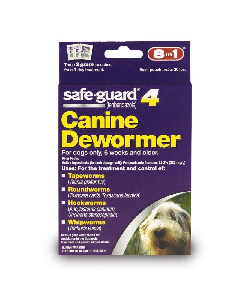 8 in 1 Safe-Guard 4 Canine Dewormer Medium Dog