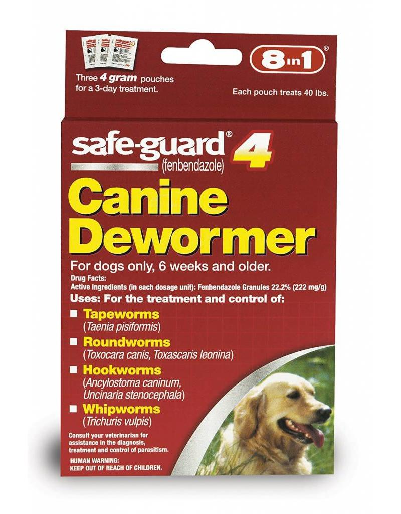 8 in 1 Safe-Guard 4 Canine Dewormer Large Dog