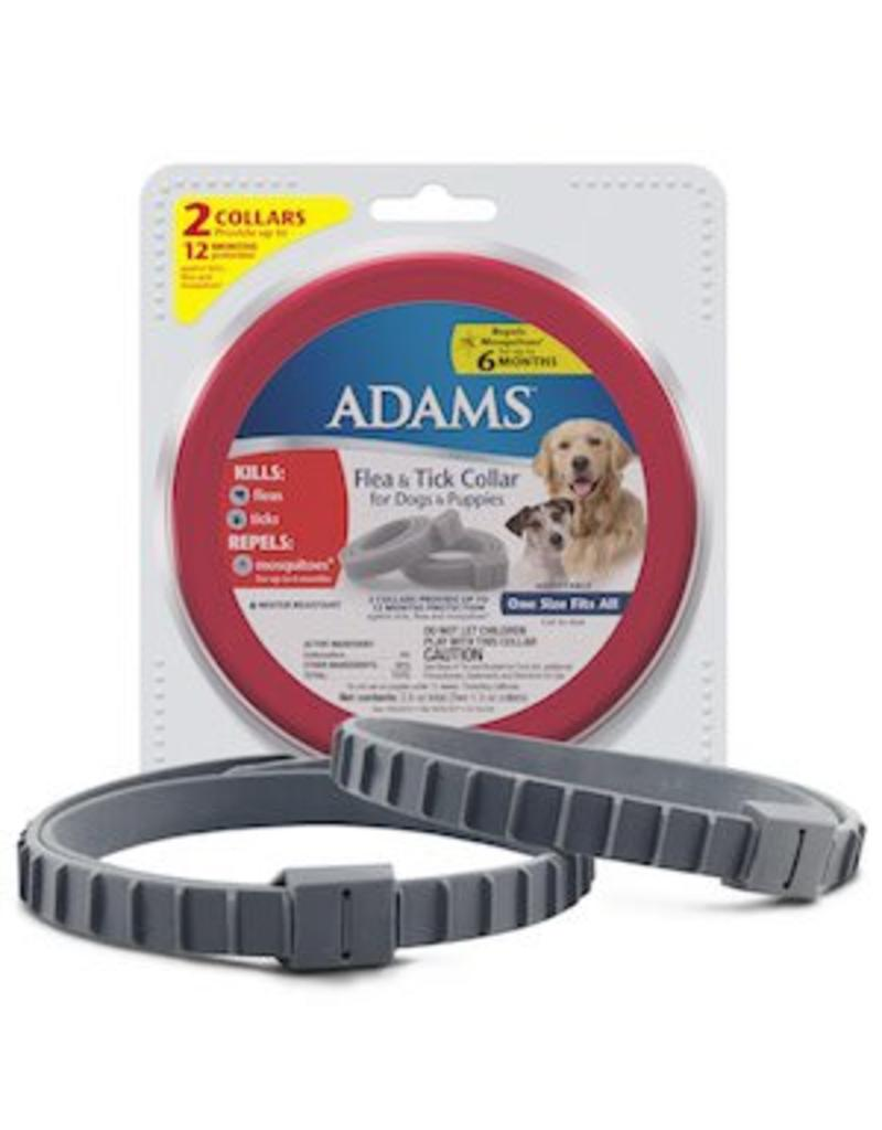Adams Flea & Tick Collar for Dogs & Puppies 2 pack