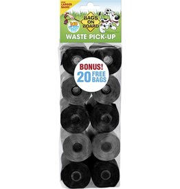 Bags on Board Dog Waste Bag Refills, 9×14 in, 140 bags Neutral