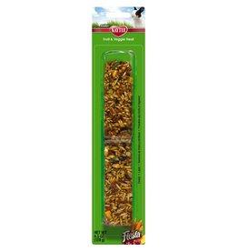 KayTee Fiesta Fruit and Veggie Treat Stick for Rabbits, 4.5oz