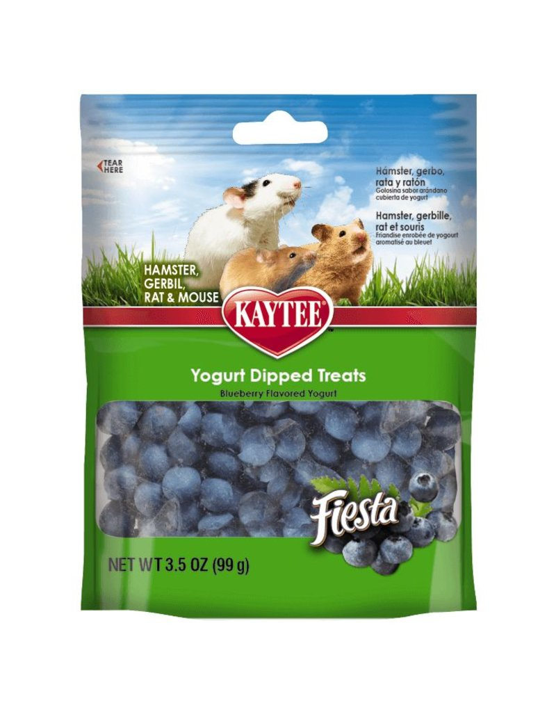 KayTee Fiesta Blueberry Flavor Yogurt Dipped Treats 3.5oz