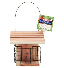 KayTee Cedar Seed and Suet Feeder