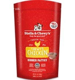 Stella & Chewy's Chewy's Chicken Frozen Dinner Patties, 6lb