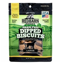 Red Barn Natural Large Cheese n' Bacon Grain-Free Dipped Biscuits