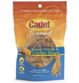 Cadet Sweet Potato Wrapped With Chicken 3oz