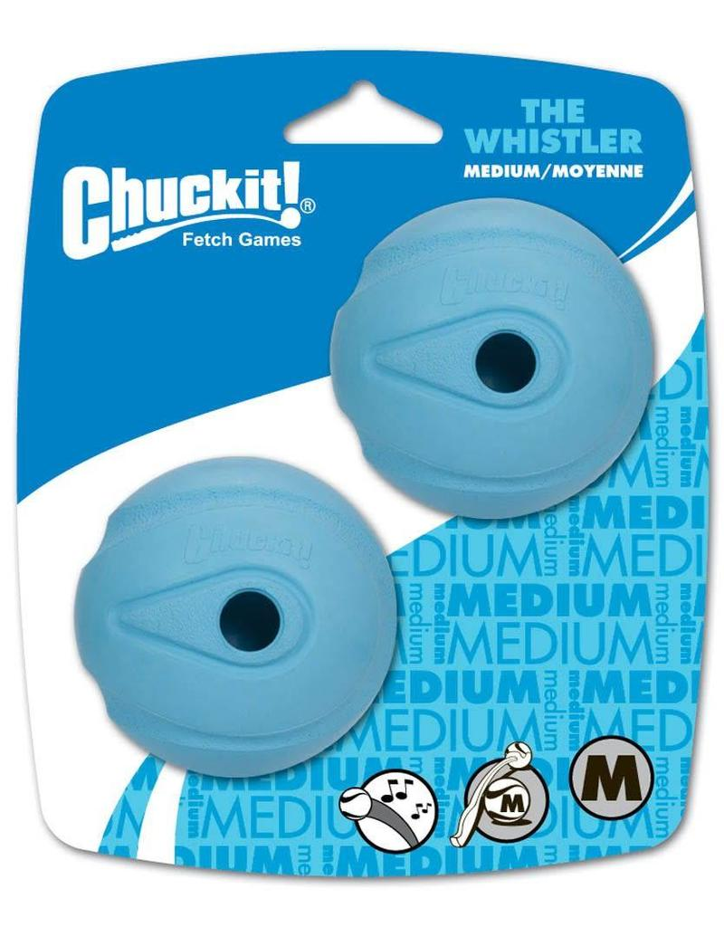 Chuckit! The Whistler Ball Medium 2pk