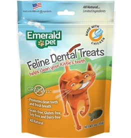 Emerald Pet Cat Dental Treat Chicken 3oz