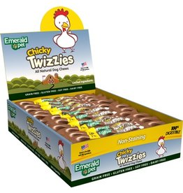 Emerald Chicky Twizzies 9in