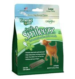 Emerald Fresh Smileezz Large Grain Free Dog Dental 12.5oz