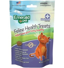 Emerald Pet Hairball Formula Cat Treats Chicken 2.5oz