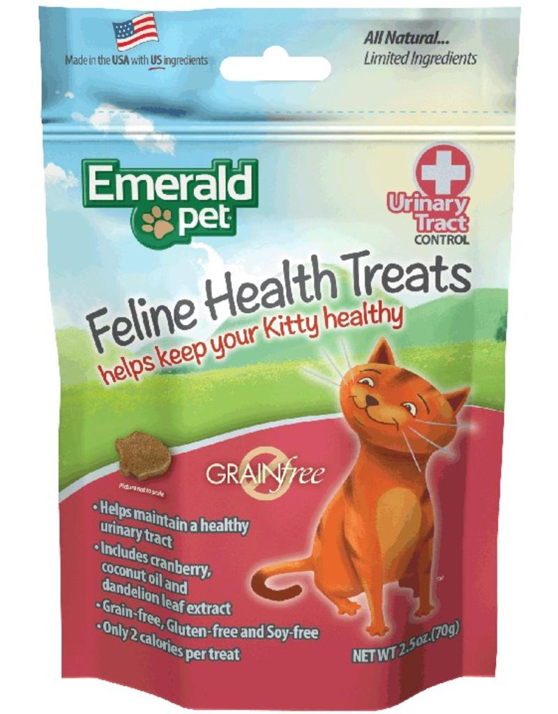 Emerald Pet Urinary Tract Formula Cat Treats Chicken 2.5oz