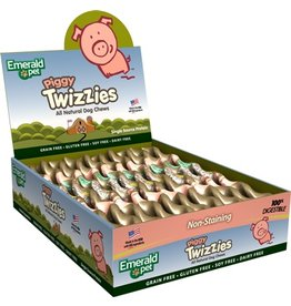 Emerald Piggy Twizzies 12in