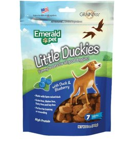 Emerald Little Duckies and Blueberry Dog Treats 5oz