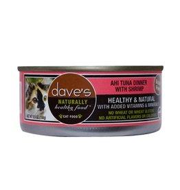 Dave's Cat Naturally Healthy Ahi Tuna & Shrimp 5.5oz
