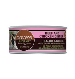 Dave's Cat Naturally Healthy Beef & Chicken 5.5oz