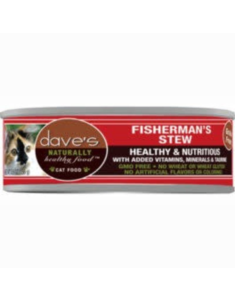 Dave's Cat Naturally Healthy Fishermans Stew 5.5oz