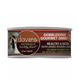 Dave's Cat Naturally Healthy Gobbleicious Gourmet Dinner 5.5oz