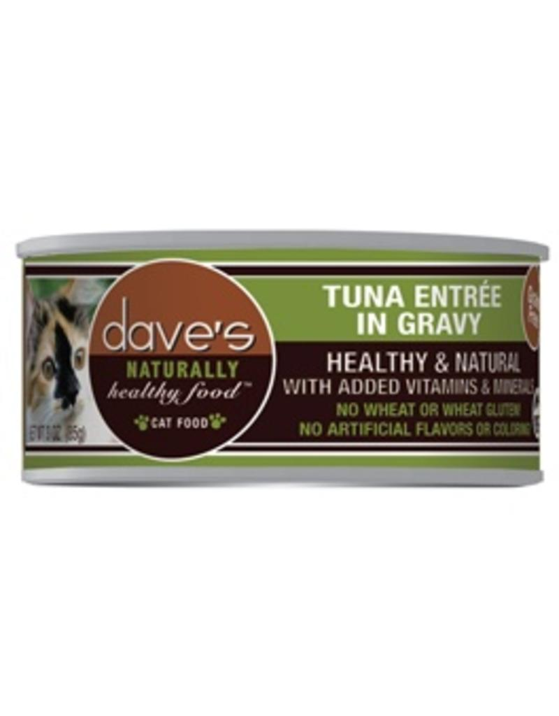 Dave's Cat Naturally Healthy Tuna in Gravy 5.5oz