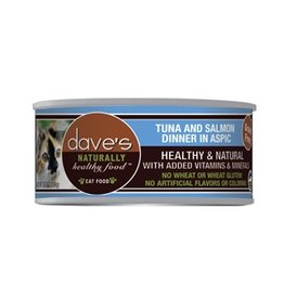 Dave's Cat Naturally Healthy Tuna & Salmon 5.5oz