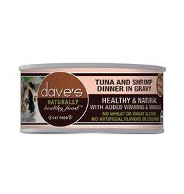 Dave's Cat Naturally Healthy Tuna & Shrimp in Gravy 5.5oz