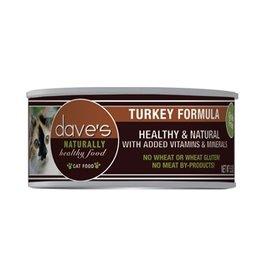Dave's Cat Naturally Healthy Turkey 5.5oz