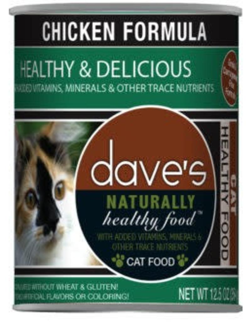 Dave's Cat Naturally Healthy Chicken 12oz