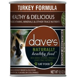 Dave's Cat Naturally Healthy Turkey 12oz