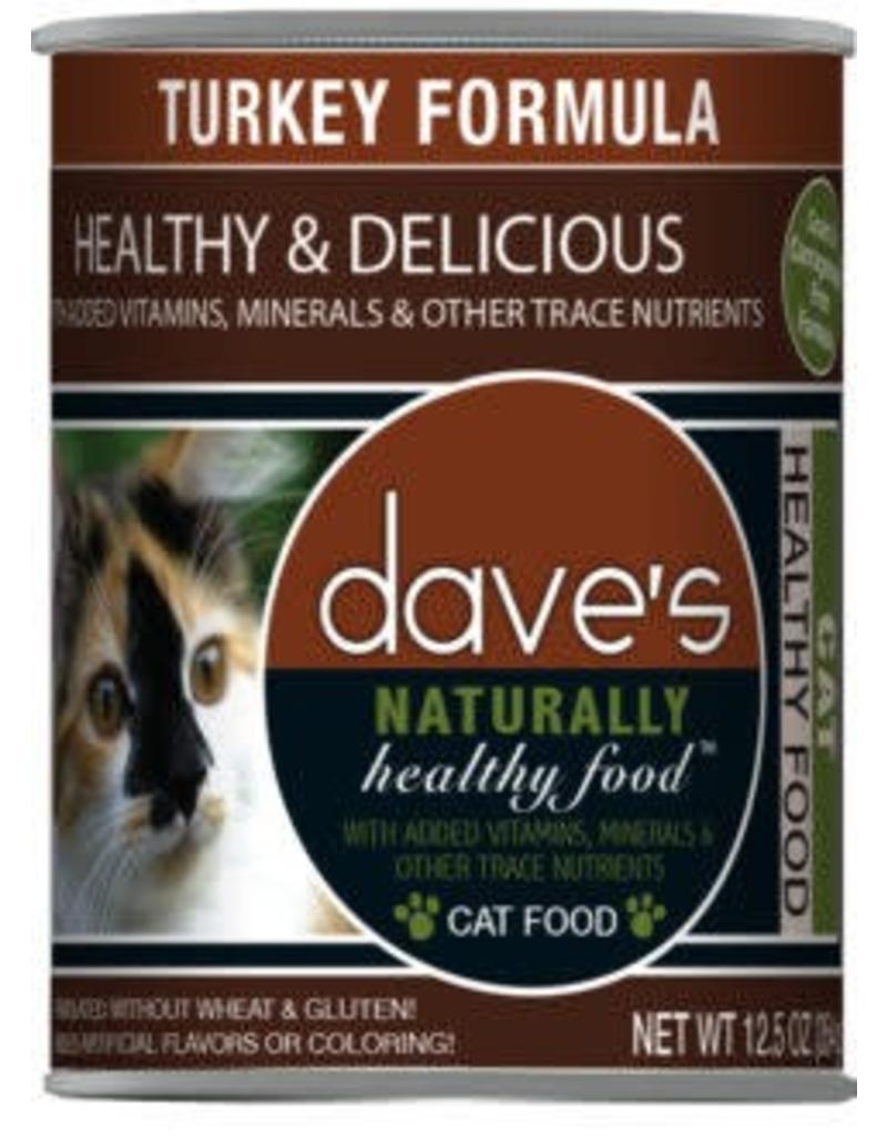 Dave's Cat Naturally Healthy Turkey 12oz