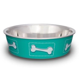 Loving Pets Bella Bowls Coastal Aqua Sea 15oz