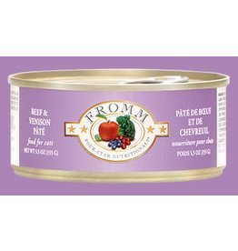 Fromm Family Cat Grain Free Beef & Venison Pate' 5.5oz