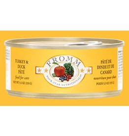 Fromm Family 4 Star Cat Can GF Turkey & Duck Pate 5.5 oz