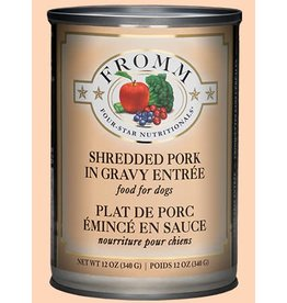 Fromm Shredded Pork in Gravy Entree' 12oz