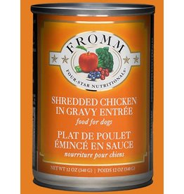 Fromm Shredded Chicken in Gravy Entree' 12oz