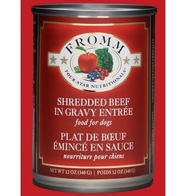 Fromm Shredded Beef in Gravy Entree' 12oz