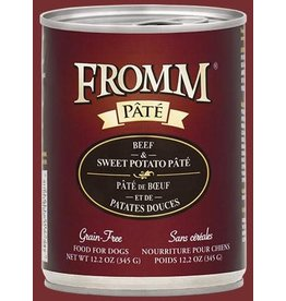 Fromm Beef & Sweet Potato Pate' 12.2oz