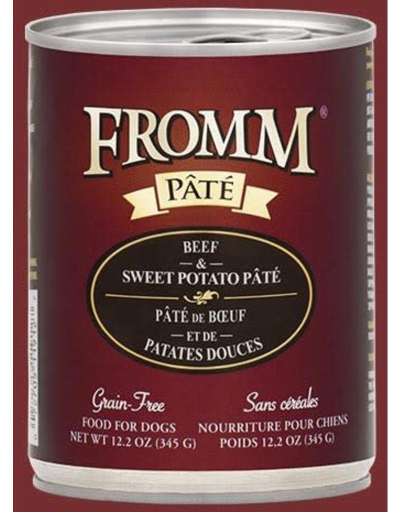 Fromm Beef & Sweet Potato Pate' 12.2oz