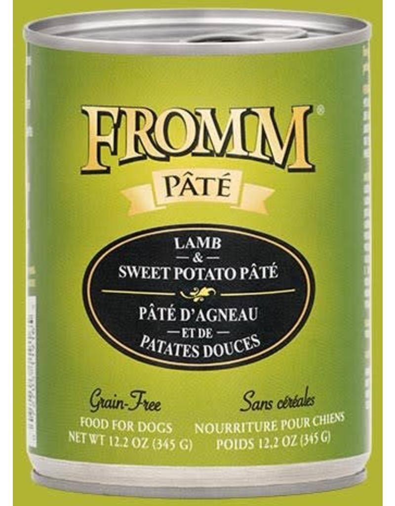 Fromm Lamb & Sweet Potato Pate' 12.2 oz