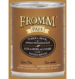 Fromm Turkey, Duck & Sweet Potato Pate' 12.2oz