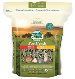 Oxbow Animal Health Hay Blends - Western Timothy & Orchard Grass 40oz