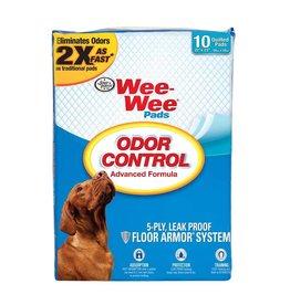 Wee-Wee Odor Control Pee Pad 10ct
