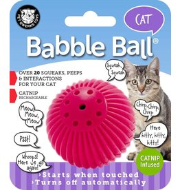 Pet Qwerks Babble Balls® Catnip Infused